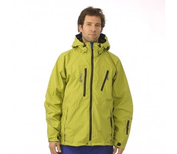 Zimní unisex bunda Expedition - Lime