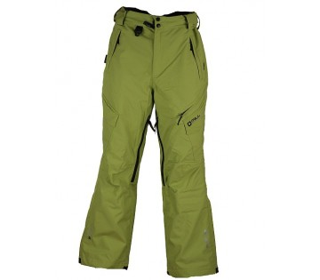0157e51e1bde Unisex lyžařské kalhoty Ride- lime blue
