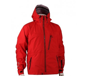 Zimní outdoor bunda Technical trilaminát - Red